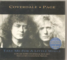 """LED ZEPPELIN Coverdale-Page """"Take Me For A Little While"""" Collector's Edt CD Box"""