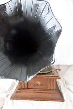 HMV Gramophone, Model 5 Excellent Condition, Morning Glory Horn *Post Worldwide