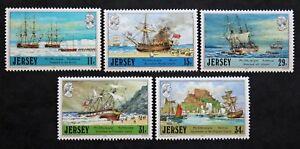 Briefmarke-Jersey-Yvert-und-n-tellier-403-a-407-n-mnh-Cyn29-Briefmarke