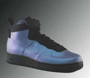 Nike Air Force 1 Foamposite Cupsole Shoe Light Carbon AH6771 002