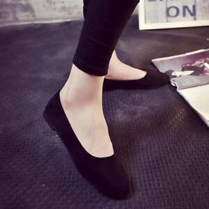 Estate-Donna-Scarpe-basse-da-infilare-sandali-casual-scarpe-ballerine-taglia