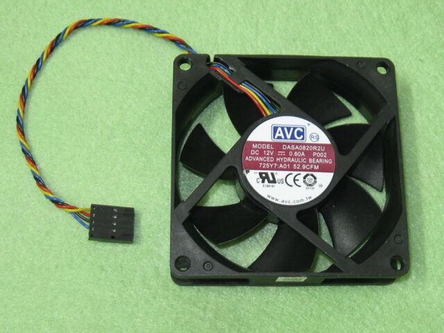 AVC DASA0820R2U Case Fan for DELL Optiplex 790 990 SFF 12V 0 60A 4Wire 5Pin  B158