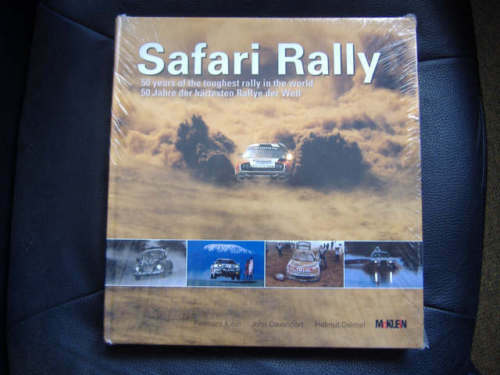 Book Rally Safari Rally 50 years of the toughest rally SMALL RARE 324 pages