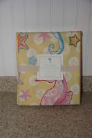 Pottery Barn Kids Seahorse Yellow Twin Duvet Cover Sold Out 2013