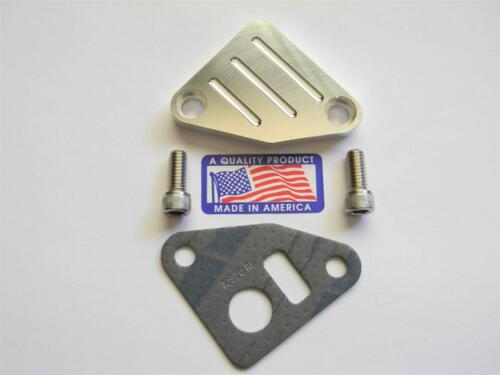 Egr Delete 350  70950 Block off Chevy Carbureted Motors 305-327