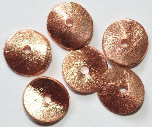 cepillado 5117 10 curvado discos de cobre 8 mm
