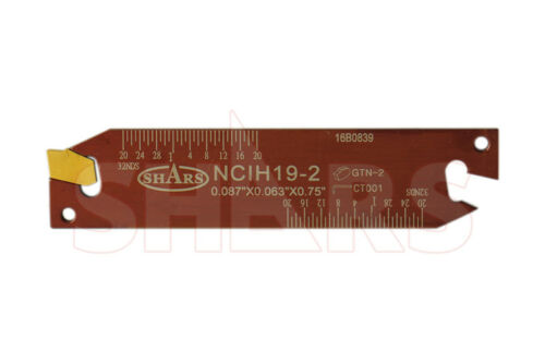 SHARS NCIH-19-2-PS Positive Stop Adjustable Blade for Self-Lock Cut-off InsNEW