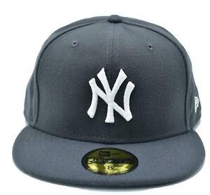 MLB Cap New Era 59Fifty New York NY Yankees Game Fitted Hat Dark Navy