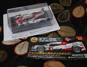 TOYOTA-TS050-Hybrid-2017-1-43-Le-Mans-Car-Collection-1-Without-Book-SPARK-GAZOO