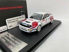 Rally Monte Carlo 1992 Toyota Celica 4WD Sainz RARE HPI C