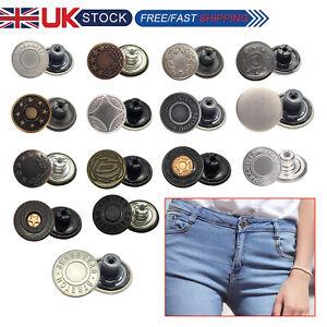 10 Bottoni Jeans 17 mm