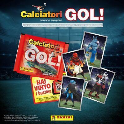 Calciatori 2019-2020 Panini Gol cards Mascotte e scudetti fuori raccolta a sc