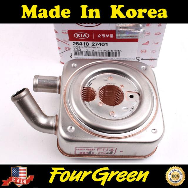 Engine Oil Cooler For 2007-2010 Hyundai Santa Fe Sonata