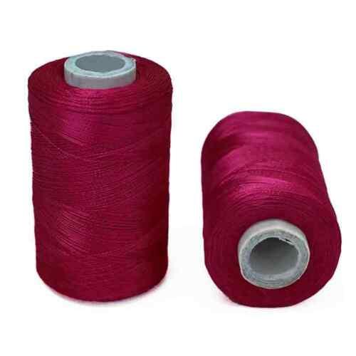 Art Silk Thread Yarn Embroidery Crochet Knitting Lace Jewelry Trim 900 M in 1 Rl