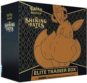 Pokemon Shining Fates Elite Trainer Box New Sealed PRE-ORDER Feburary 23rd