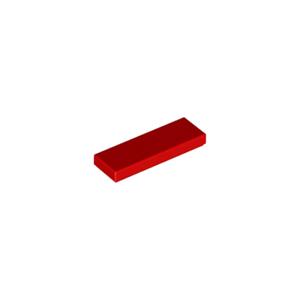 Lot x2 Lego 6100769-63864 Tile plaque lisse 1x3 Groove marron brown