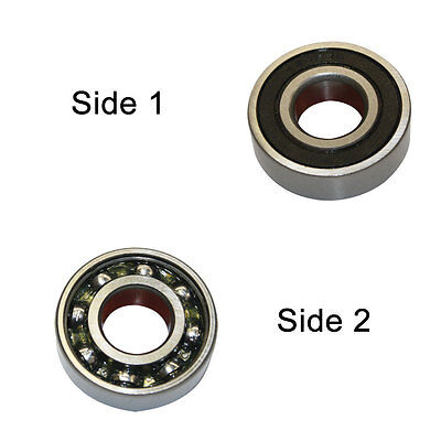 2 x Shield, Superior Electric SE 6200ZZ-D Replacement Ball Bearing 2pcs//pk