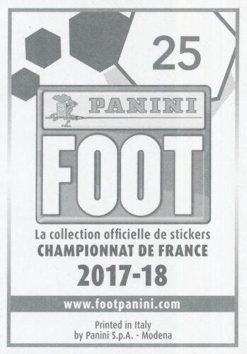 025 SERGE GAKPE TOGO SIGNATURE METAL AMIENS.SC  STICKER PANINI FOOT 2018
