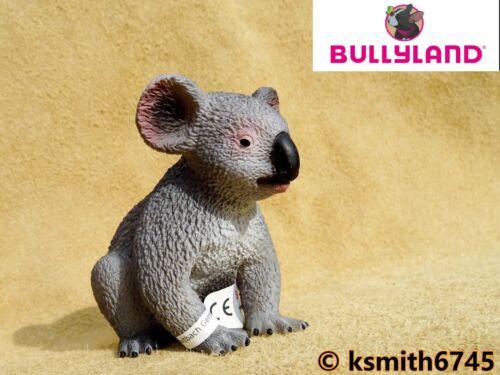 Nuovo * Bullyland KOALA solido in plastica giocattolo Wild Zoo Animale Australiano albero