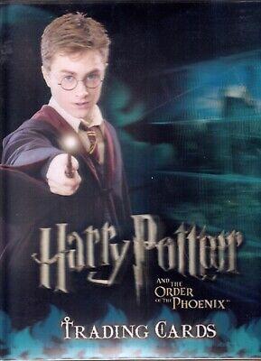 Harry Potter Order Of Phoenix 2007 Artbox 3d Card Binder Comic Con Exclusive Ebay
