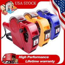 Mx5500 Eos 8 Digits Price Labeller Tag Gun With Label Paper Amp Ink Roller J4j9