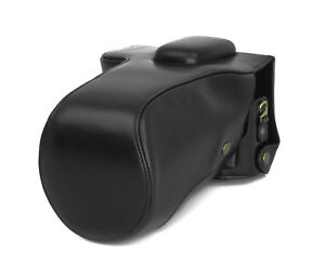 Details about Camera Case Case for Nikon D750 Faux Leather Bag Black CC1345a