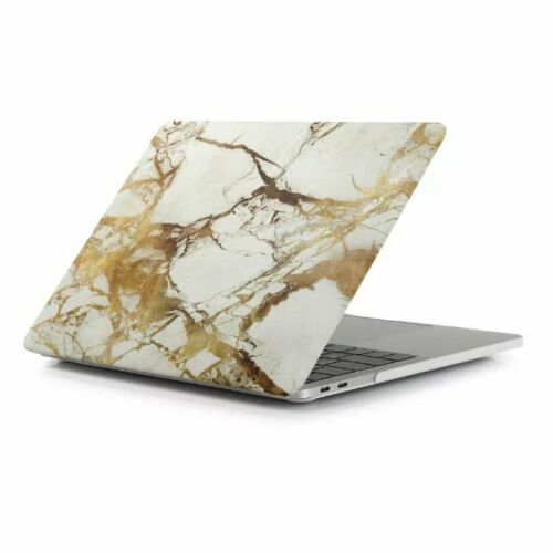 Gold Marble Hard Case Cover Sleeve For Macbook Air Pro 11 12 13 15/'/' /& Retina
