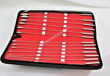 CYNAMED USA Bakes Rosebud Uterine Urethral Dilator 13 Pc Set With Carrying Case