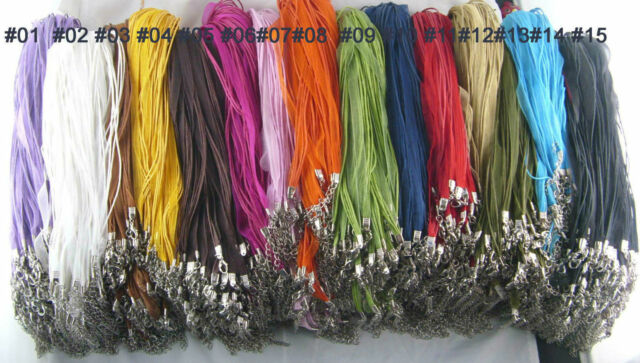 New Fashion 100pcs Organza Voile String ribbon Cord Necklace For Jewelry making