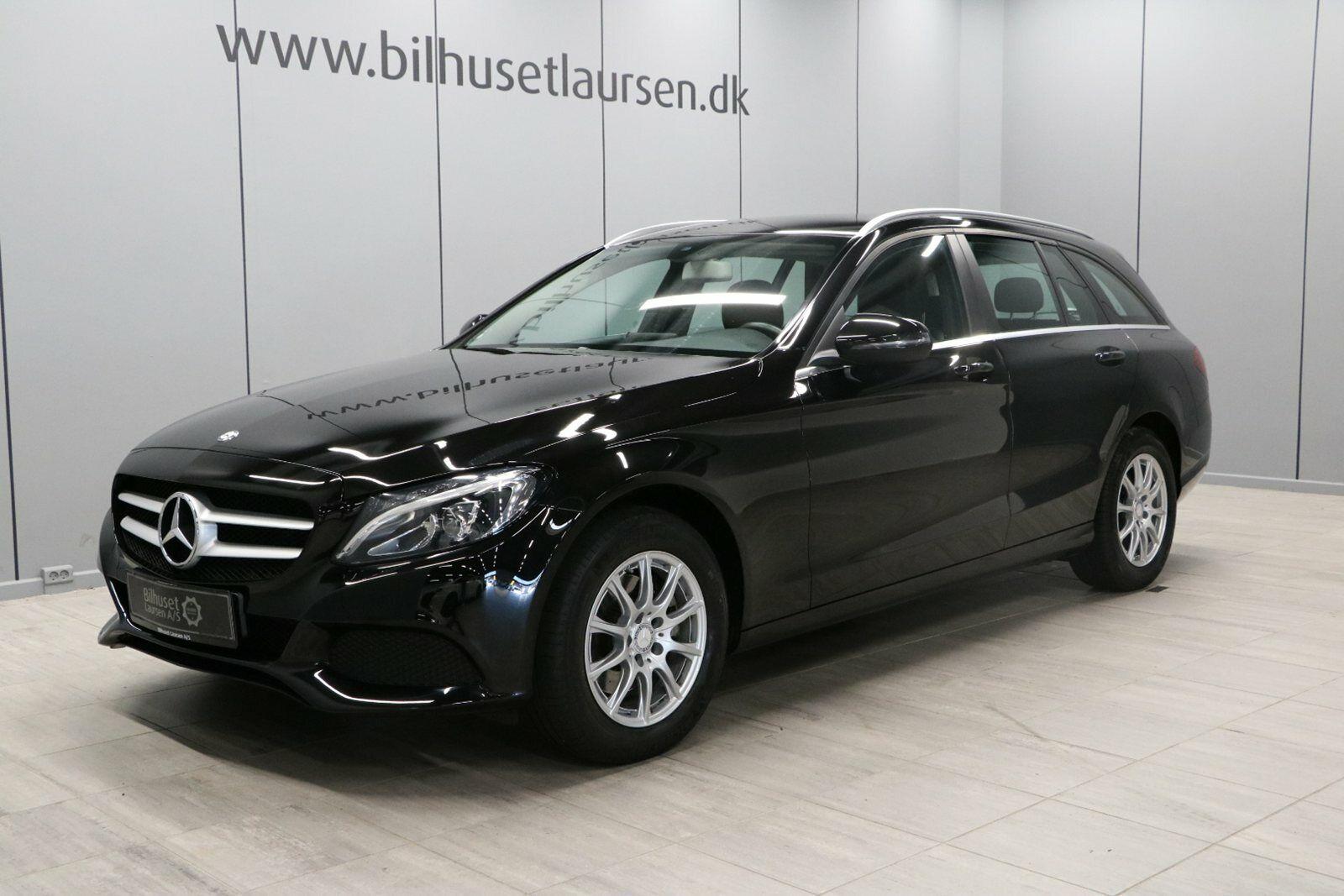 Mercedes C200 2,0 stc. aut. 5d - 364.900 kr.