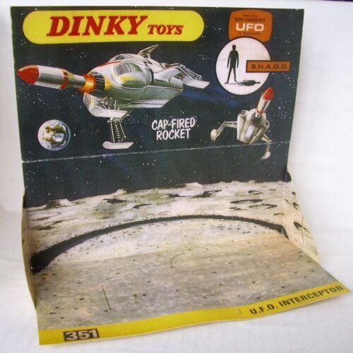 Repro Box Dinky Nr.351 U.F.O.Interceptor