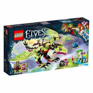 41183-LEGO-Elves-The-Goblin-King-039-s-Evil-Dragon-339-Pieces-Age-8-12-New-for-2017