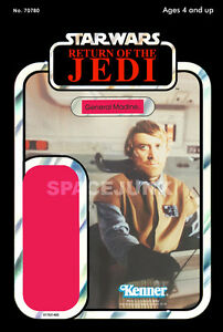 1983 Repro Kenner Cardback RETURN OF THE JEDI Boba Fett STAR WARS