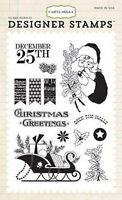 Carta Bella christmas Wonderland Deck The Halls Designer Stamps Scrapjack's