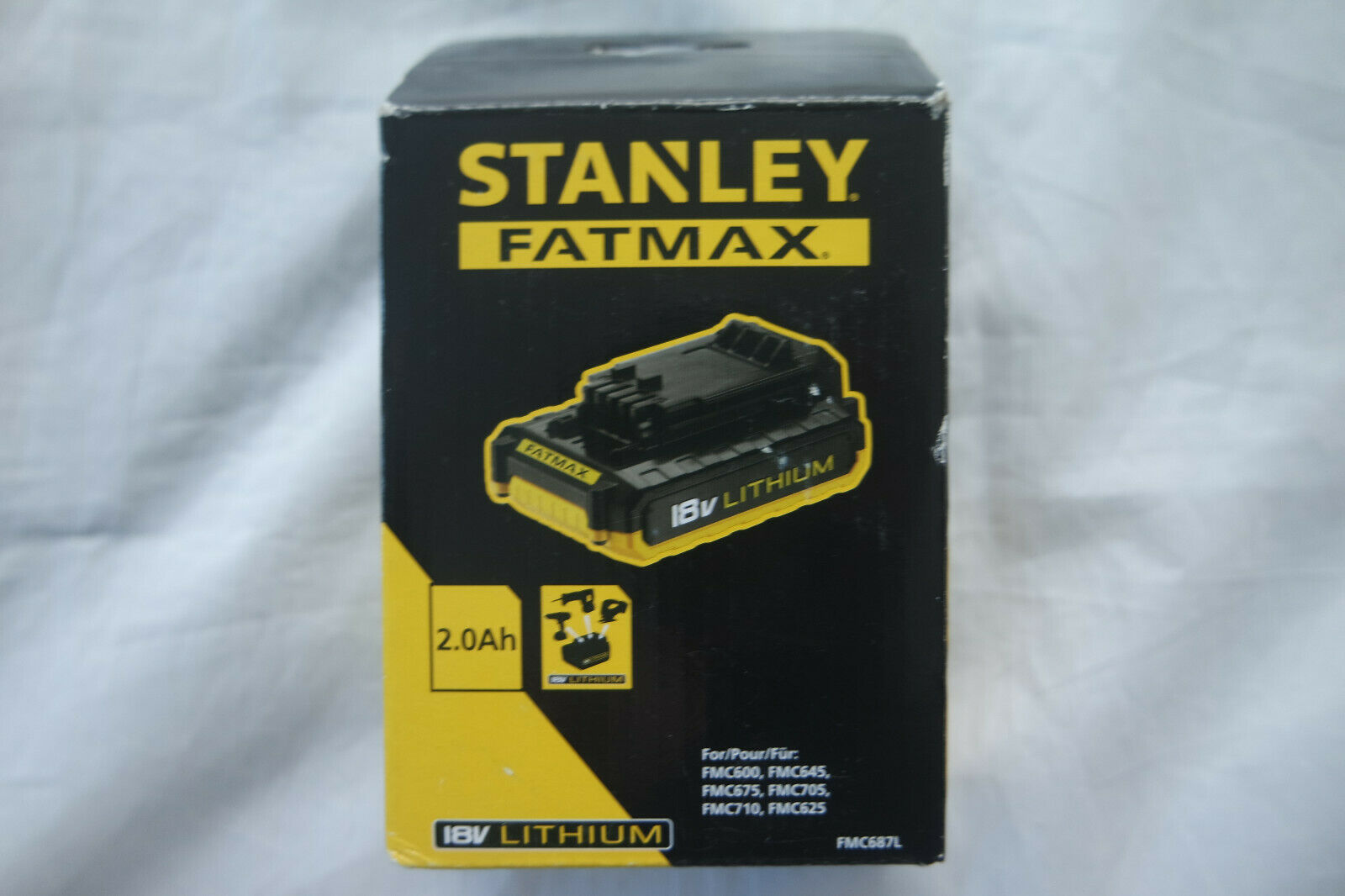 STANLEY-FMC687L FATMAX-XJ 2,0 Ah-Ion Akku, 18 V