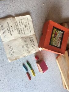 Untidy Vintage (30's/40's) Touring England Game Geographia (Box / Contents only)