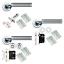 Internal Door Handles Sets Door Packs Lever Furniture Dual Finish Satin /& Chrome
