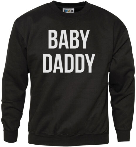 Baby Daddy-Divertente Nuovo papà regalo padre Gioventù /& Da Uomo Felpa