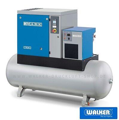 AnpassungsfäHig Schraubenkompressor Mark Msm-maxi 11 D-270 - 11 Kw - Behälter - Trockner- Neu