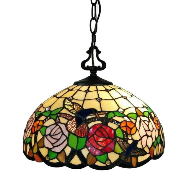 Tiffany Style Stained Leaded Gl