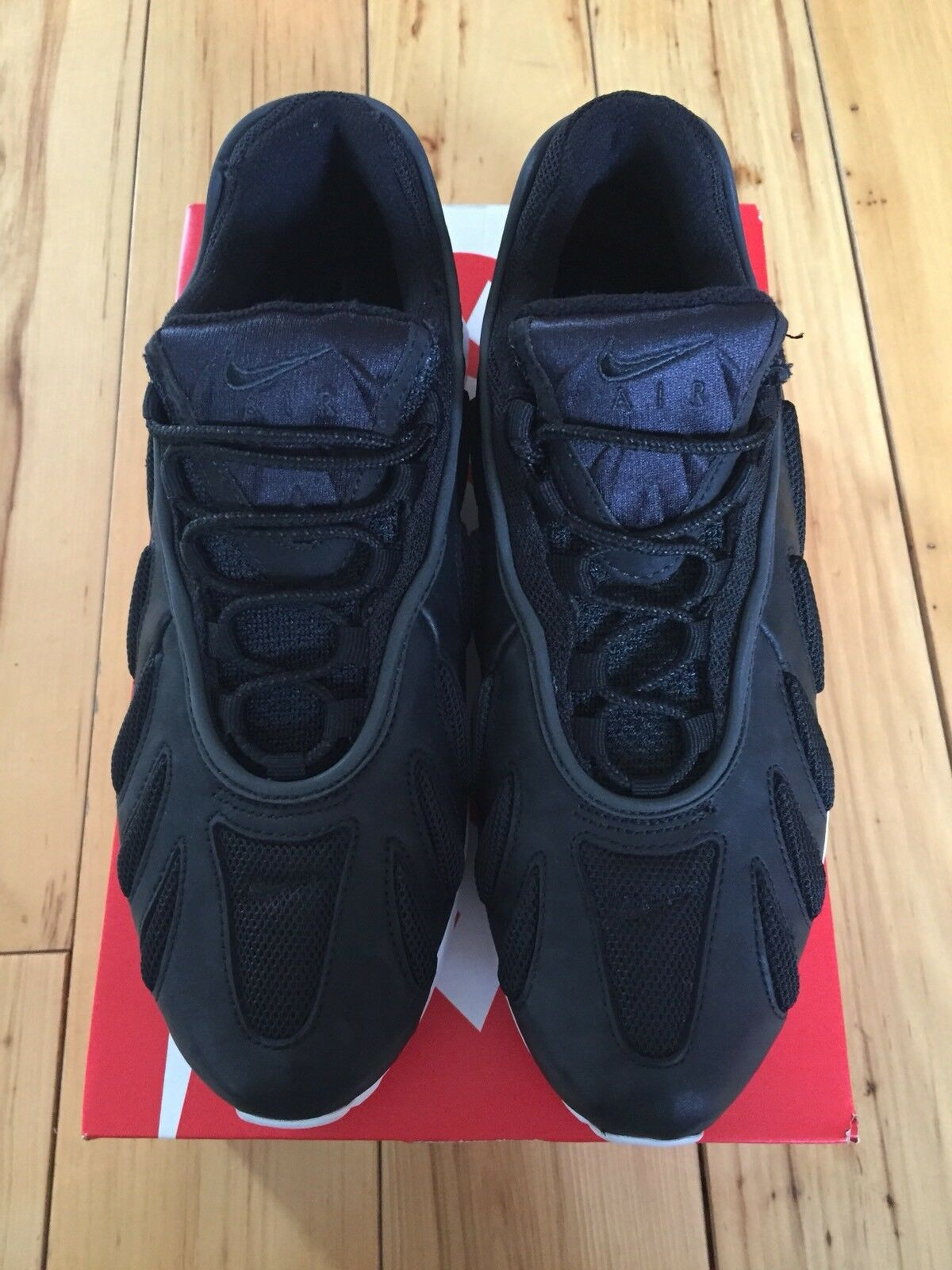 Nike Air Max 96 XX OG DS NikeLAB Retro Black-White 870165-002 US 9.5