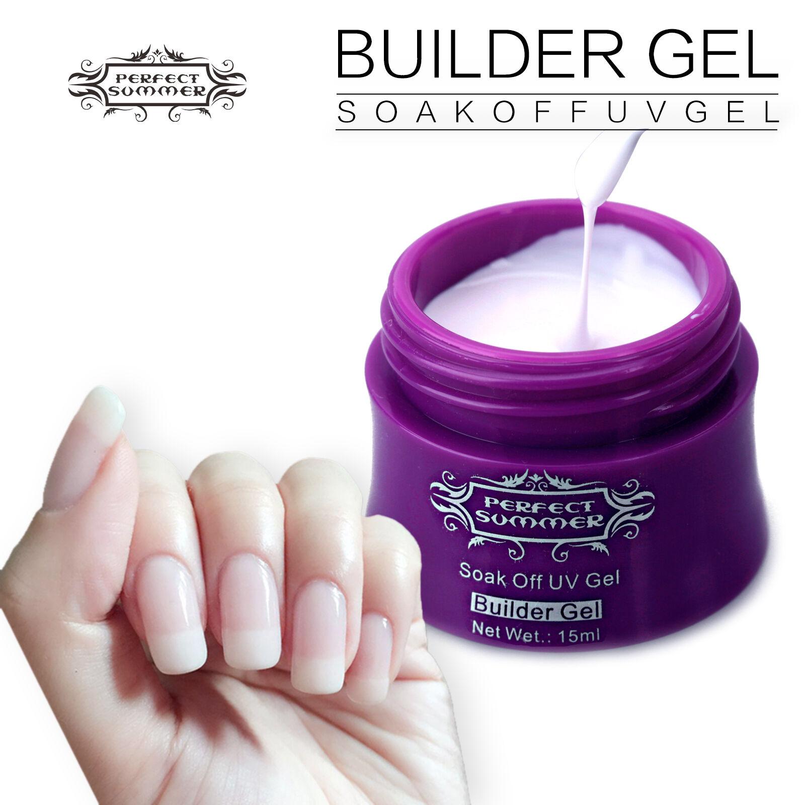 1pcs Pink Color UV Builder Gel Nail Polish Manicure