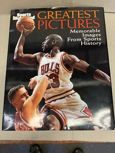 Sports-illustrated-Greatest-Pictures-Hardcover-Book-Michael-Jordan-Cover-NBA