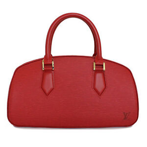 Louis-Vuitton-Bag-LV-Epi-Leather-Jasmin-Bag-M5208E-Castillan-Red