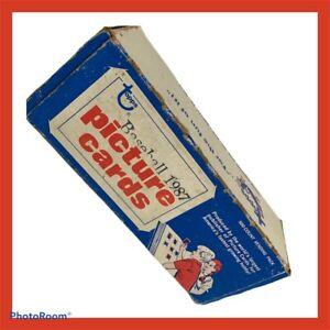 Topps 1987 Lot 500 Baseball Vendor Picture Cards Original Box