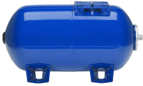 Pressure Tank 5.3 Gal Horizontal Pre-Charged Aluminum Commercial Residential