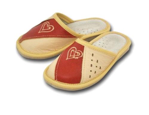 28-32 Kinder Mädchen Hausschuhe Echt Leder Pantoffel Latschen  Gr 2-901
