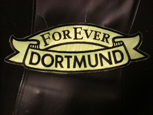 Rückenaufnäher Forever Dortmund Fanartikel RARITÄT
