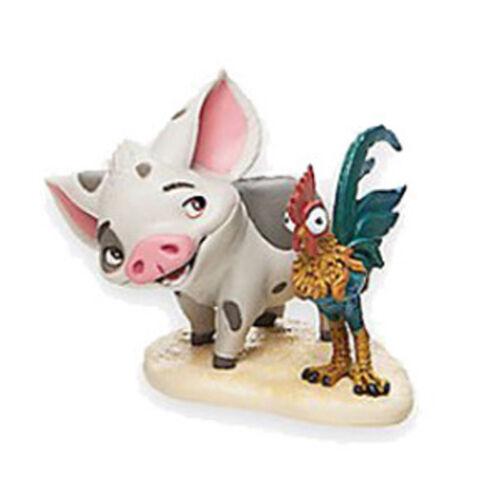 Disney Moana Vaiana Pua Hei Hei Figuren Plastik Spielzeug Kuchendekoration