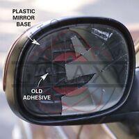 Us Made Door Mirror Glass Complete- Passenger Side For Toyota Celica 82-85